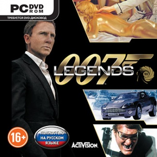 007 Legends [PС-DVD, Jewel, Русская версия]