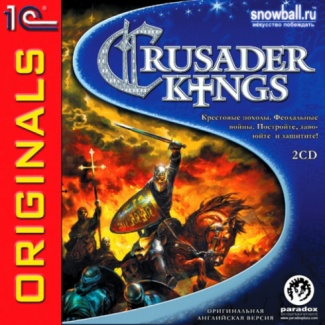 1С:Snowball Originals. Crusader Kings [PC-DVD, Jewel, Русская версия]