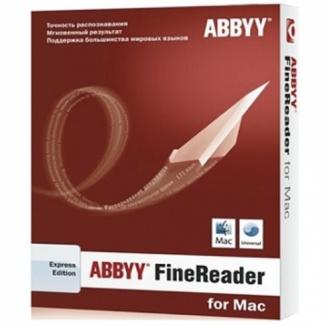 ABBYY FineReader. Express Edition for Mac (коробочная версия)