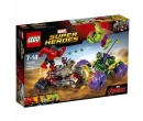 LEGO. Marvel Super Heroes (76078) Халк против Красного Халка