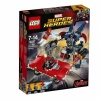 LEGO. Marvel Super Heroes. (76077) Стальной Детройт наносит удар