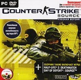 Counter Strike: Source [PC-DVD, Jewel, Русская версия]