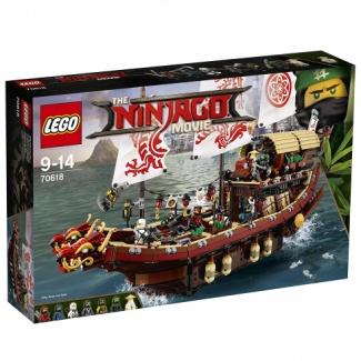 LEGO. The Ninjago Movie (70618) Летающий корабль мастера Ву