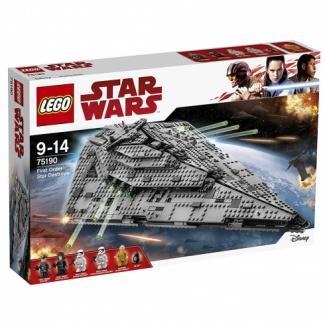 LEGO. Star Wars (75190) Звездный разрушитель Первого Ордена