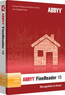 ABBYY FineReader 10. Home Edition (карта активации)