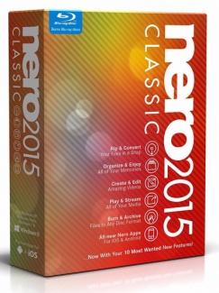 Nero 2015 Classic (коробочная версия)