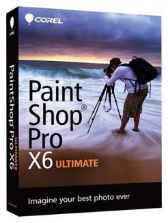 Corel PaintShop Pro X6 Ultimate (коробочная версия)