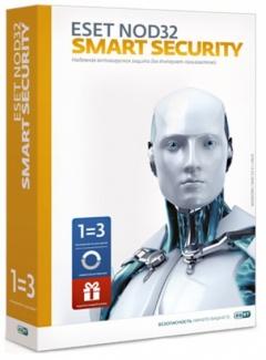 Eset NOD32 Smart Security (3 ПК  1 год) + бонус (коробочная версия)