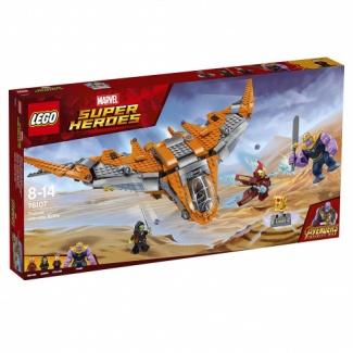 LEGO. Marvel Super Heroes AVENGERS infinity wars (76107) Танос: Последняя битва