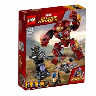 LEGO. Marvel Super Heroes AVENGERS infinity wars (76104) Бой Халкбастера