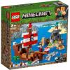 LEGO. Minecraft. (21152) Приключения на пиратском корабле на дереве в джунглях