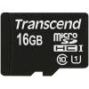 Карта памяти Transcend microSDHC 16Gb Class10 (TS16GUSDCU1) UHS-I