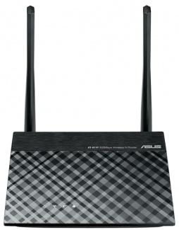 Маршрутизатор Asus RT-N11P беспроводной до 300Mbps, Черный