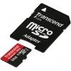 Карта памяти Transcend microSDXC 64Gb Class10 Transcend TS64GUSDU1 + adapter
