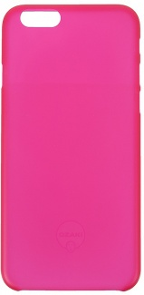 Чехол-накладка для iPhone 5/5S/SE Ozaki O!coat 0.3 Jelly, Пластик, Красный OC533RD