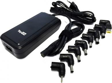 Универсальное зарядное устройство TopON TOP-UNIV_8 для ноутбуков, нетбуков и цифровой техники 90W с USB-портом на 2.1A
