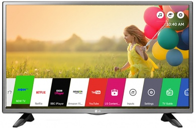 Телевизор LG 32 32LH570U, LED, HD, Smart TV, PMI 450  Серый