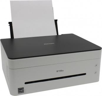 МФУ лазерное монохромное Ricoh Aficio SP150SU A4, 22стр/мин, 128Мб, USB, Белый/Черный 408003