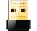 Адаптер Wi-Fi TP-Link TL-WN725N, USB, 802.11b/g/n до 150 Мбит/с, Черный