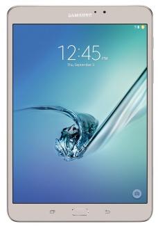 Планшет Samsung Galaxy TAB S2 8.0(2048x1536) LTE Cam(8/2.1) MSM8976 1800МГц(8) (3/32)Гб microSD A6.0 GPS 4000мАч Золотистый SM-T719NZDESER