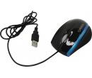 Мышь проводная Canyon CNR-MSO01, 800dpi, USB, Черный/Синий CNR-MSO01NBL