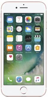 Смартфон Apple iPhone 7 32Gb Rose Gold Розовое золото MN912RU/A