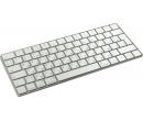 Клавиатура беспроводная Apple Magic Keyboard, Bluetooth, Белый/ Серебристый MLA22RU/A