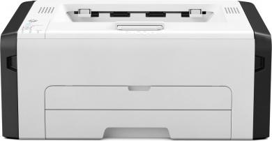 Принтер лазерный монохромный Ricoh SP 277NwX, A4, 23 стр/мин, 128Мб, USB, Wi-Fi, NFC, LAN  Белый / Черный 408157
