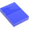 "Внешний жесткий диск Western Digital 4Tb WDBUAX0040BBL-EEUE My Passport 2.5"" USB 3.0, Синий"