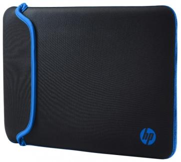 "Чехол 14"" HP Chroma Sleeve , V5C27AA, Неопрен, Черный/Синий"