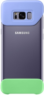 Бампер Samsung 2 Piece Cover для Samsung Galaxy S8+ , Purple, Фиолетовый/Зеленый, EF-MG955CVEGRU