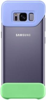 Бампер Samsung 2 Piece Cover для Samsung Galaxy S8 , Purple, Black, Фиолетовый/Зеленый, EF-MG950CVEGRU
