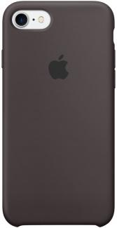 Чехол-накладка Apple Silicone Case Cocoa для iPhone 7/8 MMX22ZM/A, Силикон, Темно-коричневый