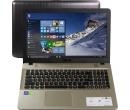 ASUS X541NC PQC N4200 4Gb 500Gb nV GT810M 2Gb 15,6 HD BT Cam 2600мАч Win10 Черный/Золотистый X541NC-GQ081T 90NB0E91-M01030