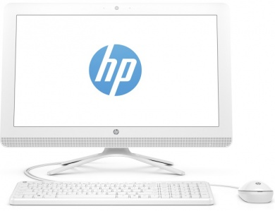 AIO HP 22  i3-7100U 8Gb 2Tb nV GT920MX 2Gb 21,5 FHD IPS TouchScreen DVD(DL) Cam Win10 Белый 22-b374ur 2BW24EA