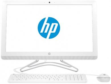AIO HP 24  A9-9400 8Gb 2Tb AMD Radeon R5 series DVD(DL) 23,8 FHD IPS BT Cam Win10 Белый 24-e084ur 2BW58EA
