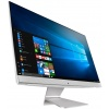 AIO ASUS Vivo AiO V241IC i5-7200U 4Gb 1Tb Intel HD Graphics 620 23.8 FHD BT Cam Win10 Белый/Серебристый V241ICUK-WA017T 90PT01W2-M01540