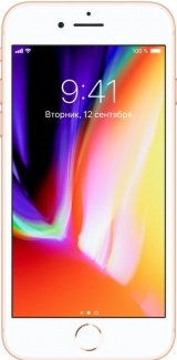 Смартфон Apple iPhone 8 256Gb Gold Золотистый MQ7E2RU/A