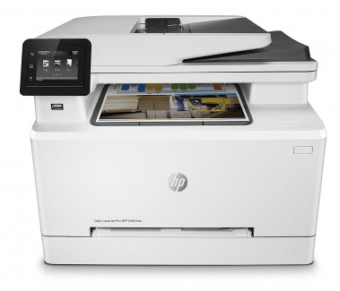 МФУ лазерное цветное HP Color LaserJet Pro M281fdn , A4, ADF, 21/21 стр/мин, факс, 256Мб, USB, LAN, Белый T6B81A