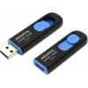 Флешка A-Data 32Gb UV128, USB 3.0 Черный/Синий AUV128-32G-RBE