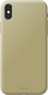 Чехол-накладка Deppa Air Case 1мм для iPhone X iPhone XS , Поликарбонат, Золотистый 83322