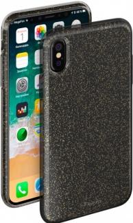 Чехол-накладка Deppa Chic Case 0.8мм для iPhone X , Полиуретан, Черный 85339
