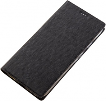 Чехол-книжка Vili для смартфона ASUS Zenfone 4 Max ZC520KL, Искусственная кожа, Черный A0307-105629