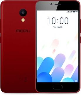 Смартфон Meizu M5с 32Gb DS 5.0(1280x720)IPS LTE Cam(8/5) MT6737 1,3ГГц(4) (2/32)Гб microSD 128Гб A7.0 3000мАч Красный M710H-32-RED