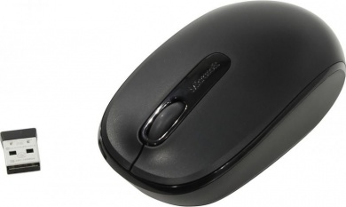 Мышь беспроводная Microsoft Wireless Mobile Mouse 1850, 1000dpi, Wireless, Черный 7MM-00002
