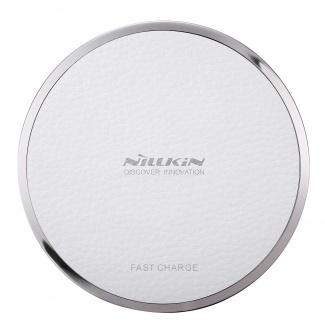 Беспроводное зарядное устройство Nillkin Magic disk III Wireless charger, Белый MD-WCP III-FC White