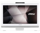 AIO MSI Pro 22ET 4BW-034RU PQC N3710 4Gb 1Tb Intel HD Graphics 405 21.5 FHD DVD(DL) TouchScreen(Mlt) BT COM Cam Free DOS Белый
