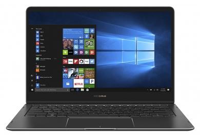ASUS Zenbook Flip S UX370UA  i7-8550U 16Gb SSD 1Tb Intel UHD Graphics 620 13,3 UHD IPS TS BT 3830мАч Win10Pro Серый UX370UA-EA294R 90NB0EN2-M07510