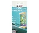 Защитное стекло ONEXT для смартфона Samsung Galaxy A8 2018 3D черное 41578