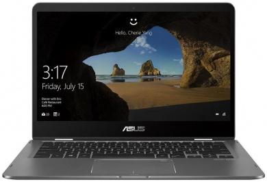 ASUS Zenbook Flip UX461UN i5-8250U 8Gb SSD 256Gb nV MX150 2Gb 14 FHD IPS TS(MLT) BT 3830мАч Win10 Серый UX461UN-E1062T 90NB0GD1-M01120